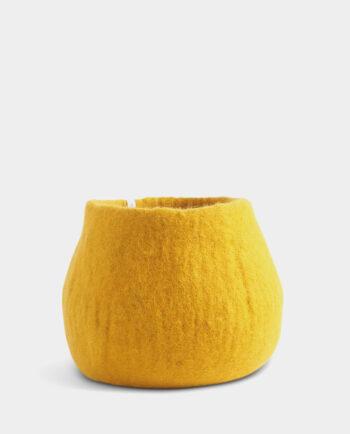 Alma de Alecrim - Loja Online - Capa de vaso M amarela