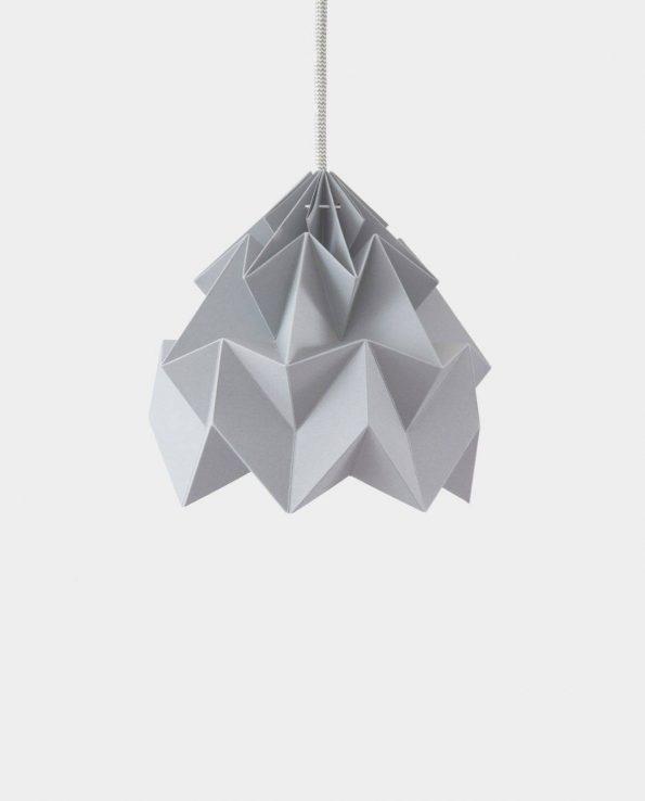Alma de Alecrim - Loja Online - Candeeiro Origami cinzento