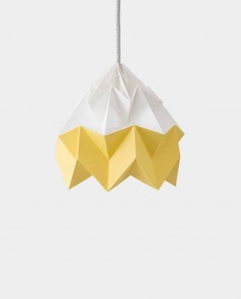Alma de Alecrim - Loja Online - Candeeiro Origami bicolor amarelo