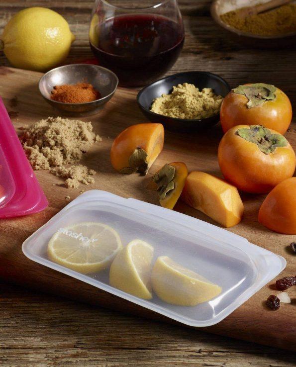 Alma de Alecrim - Loja Online - Bolsa de silicone Stasher snacks ambiente