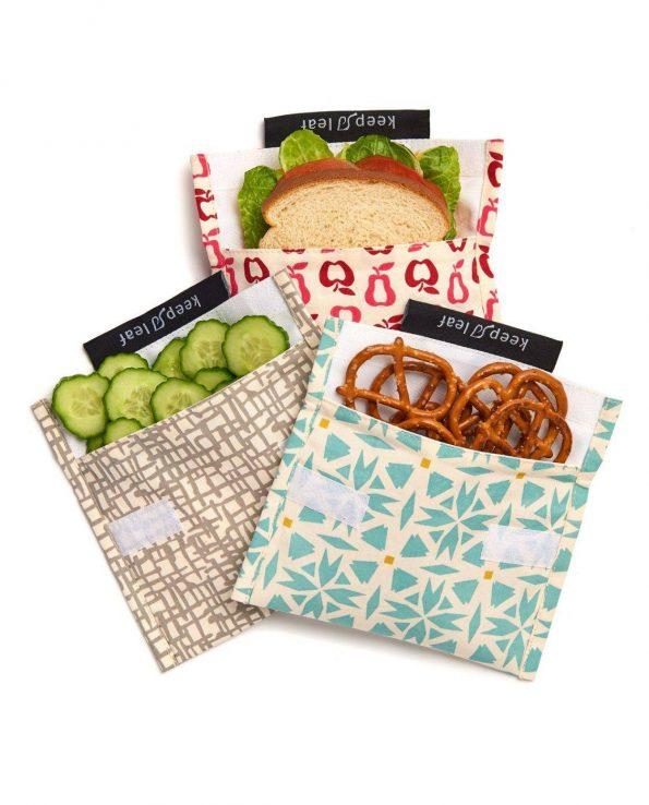 Alma de Alecrim - Loja Online - Bolsa para snacks Keep Leaf