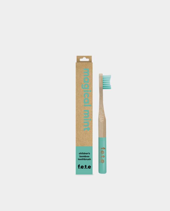 Alma de Alecrim - Escova de Dentes de bambu criança verde