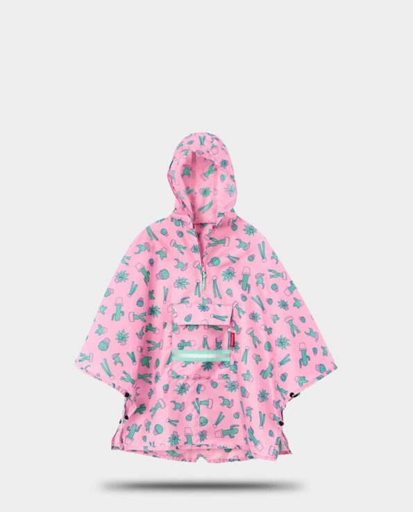 Alma de Alecrim - Loja Online - Poncho - Capa de chuva mini max Reisenthel kids Cactus rose