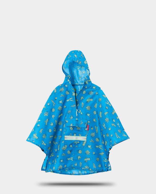 Alma de Alecrim - Loja Online - Poncho - Capa de chuva mini max Reisenthel kids Cactus blue