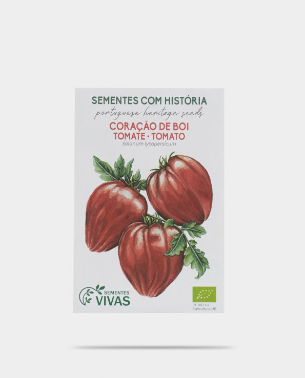 Alma de Alecrim - Loja Online - Sementes Vivas - sementes biológicas - sementes com história - sementes com tradição - tomate coração de boi
