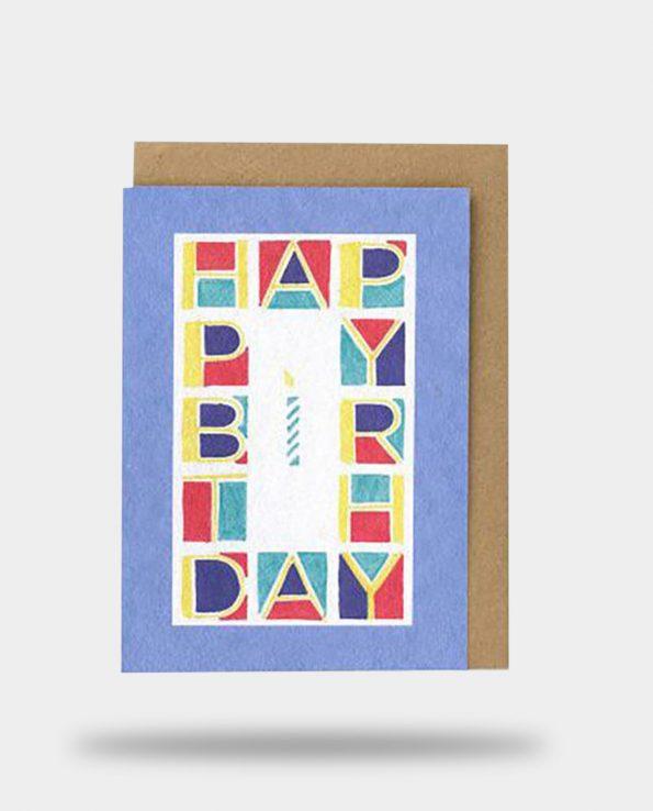 Alma de Alecrim - Loja Online - Cartão postal de felicitação Happy Birthday Papier Tigre