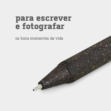 Para escrever e fotografar