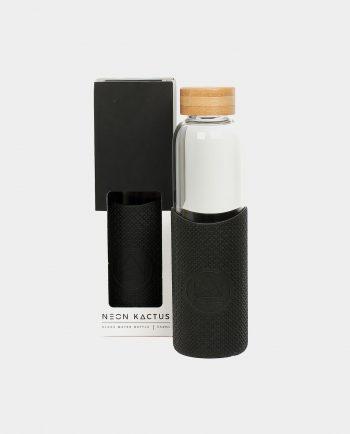 Alma de Alecrim - Loja Online - Garrafa de vidro Neon Kactus preta com embalagem