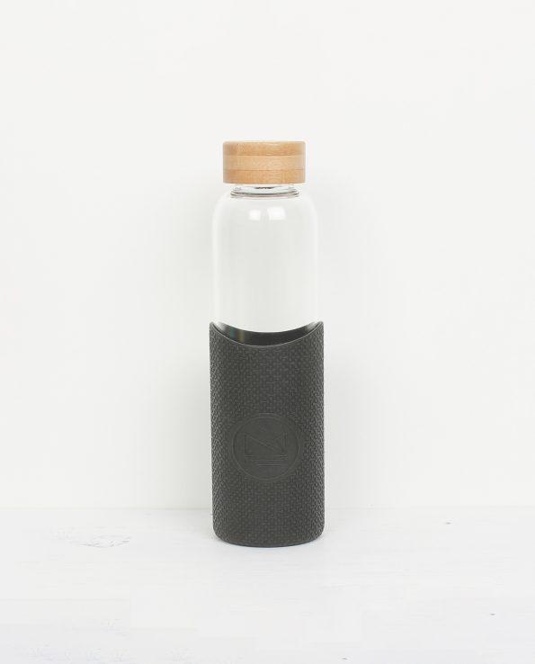 Alma de Alecrim - Loja Online - Garrafa de vidro Neon Kactus preta