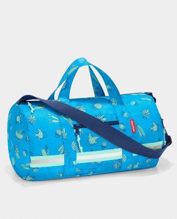 Alma de Alecrim - Loja Online - Saco de desporto dobrável Reisenthel kids - Cactus blue