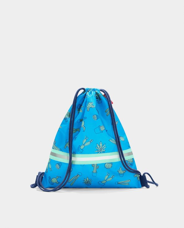 Alma de Alecrim - Loja Online - Saco Mochila Reisenthel kids - Cactus blue
