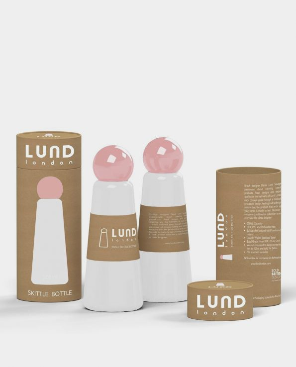 Alma de Alecrim - Loja Online - Voucher - Garrafa Skittle 0,5L branca com embalagem Lund London