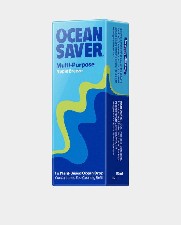 Alma de Alecrim - Ocean Saver - Embalagem de Cápsula Ultra concentrada de detergente Multiusos Maçã