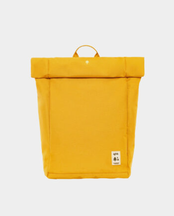 Lefrik - Alma de Alecrim - Loja online - Mochila Roll - amarela