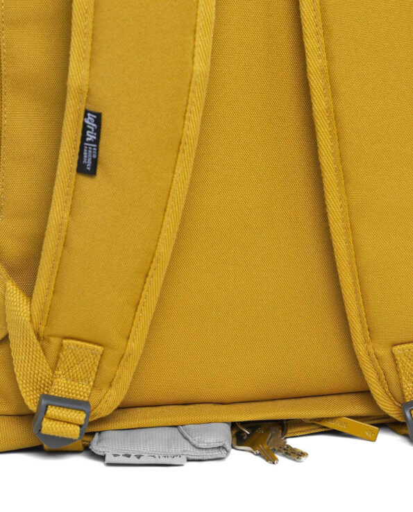 Lefrik - Alma de Alecrim - Loja online - Mochila Roll - amarela alças