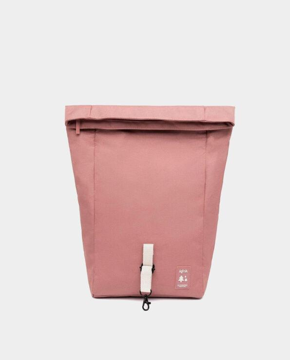 Lefrik - Alma de Alecrim - Loja online - Mochila Roll Mini rosa desenrolada